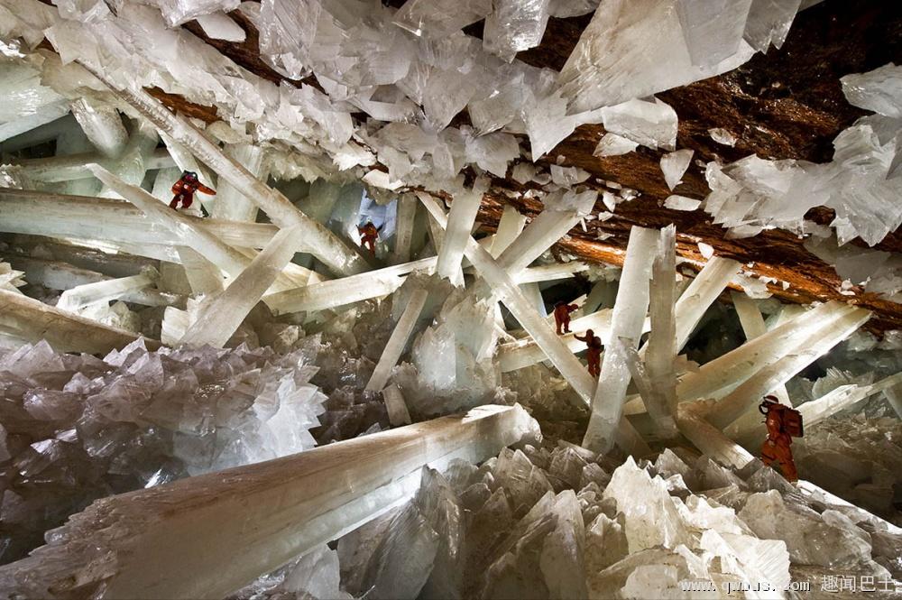 墨西哥奈卡水晶洞