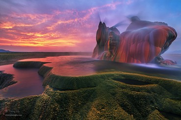 地球上最象外星世界的景观