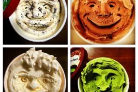 新鲜:你试过在冰淇淋上刻图案么,不是想像的简单