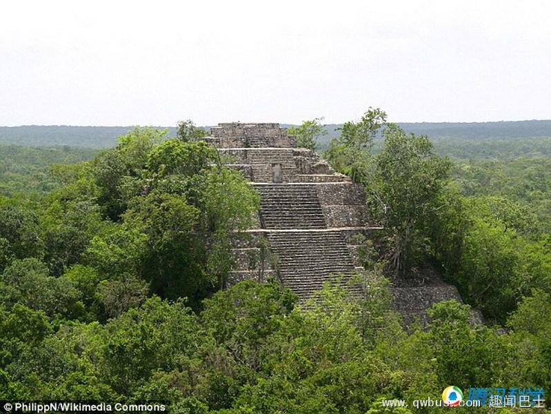 神秘玛雅石碑被发现 距今1600年