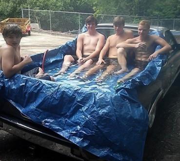 只要你敢干——炎热盛夏打造私人泳池