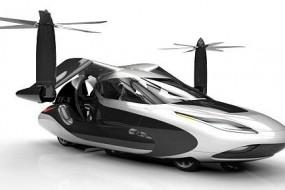 T-FX飞行汽车10年内量产 可自动躲避其他飞行物