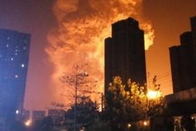 太恐怖 天津爆炸有46枚战斧导弹威力 被卫星拍到