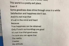 11岁熊孩子写的诗——看后男默女泪