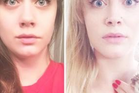 这女孩在网上发现了另一个自己