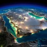 上帝视角看地球夜景