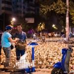 广西鬼节街道铺满鸭子待售
