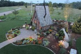 带你走进梦幻童话世界的小木屋