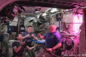 宇航员赞太空蔬菜味道好 提供载人远航补给