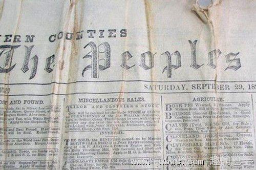 英国挖出百年前报纸和威士忌:来一口?-趣闻巴士