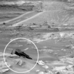 好奇号发现火星表面疑似飞船物体