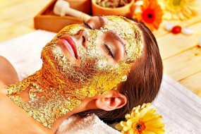 世界最奢华水疗会所 提供黄金面膜和冷冻疗法