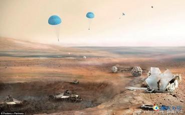3D打印火星房屋将由机器人建造