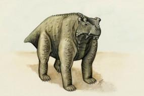 最丑的恐龙四肢站立 大小像牛