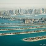 空中看迪拜 人工与自然融合令人惊叹