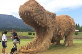 日本稻草节现巨型怪兽