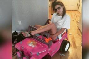 吊销驾照也不能阻挡她对开车的执着