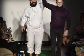 沧桑老爹穿上时装也是潮范