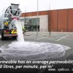 口渴型混凝土瞬间吸收数吨水