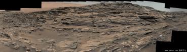 NASA公布火星全景图 TIF格式达693MB