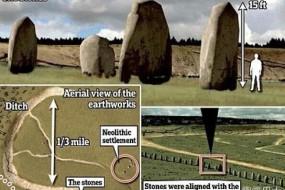 英国巨石阵发现地下版