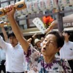 日本大妈开跳广场舞 那动作也杠杠的