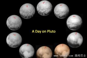 冥王星背面现神秘黑斑