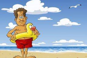 60岁大叔挑战游泳极限 游遍全球100多国家