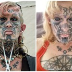 变性艺术家的惊悚纹身
