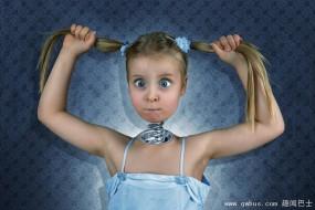 摄影师为女儿制作的逆天童年照
