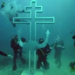 俄罗斯在海底建水下教堂