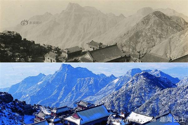 国庆热门景点100年前旧照:变化惊人-趣闻巴士