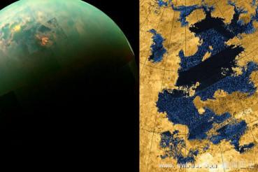土卫六表面液态甲烷中可能有怪异生物