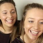 神奇:同校两女生面貌酷似犹如双胞胎
