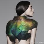 超炫科幻服饰 一动就变色