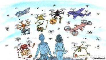 无人机时代到来 应用范围迅速扩大