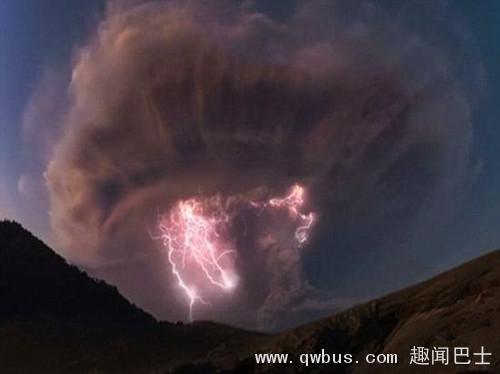 "BBC""火山闪电""奇景被指造假系后期合成画面-趣闻巴士"