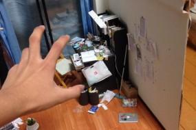 日本高中生DIY逼真微缩生活情景模型