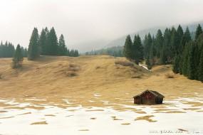这些静谧的木屋 让人向往远离尘世的宁静