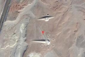埃及沙漠发现疑似古代遗迹神秘结构