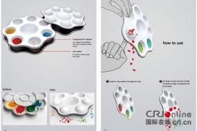 中国学生设计的筷子和调色盘获红点奖