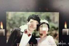 要亲命了:夫妻收最恐怖婚纱照 黑底白蜡烛阴森诡异