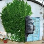 街头艺术家的惊艳之作