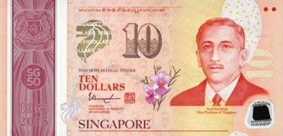 10新元塑料钞票