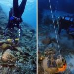 希腊海底发现多只有珍贵文物古沉船