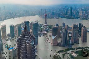 若地球升温4度中国4城市恐被水淹
