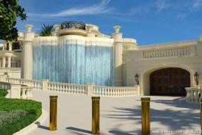 美最贵别墅占地上千平米有6个瀑布 10亿元挂牌出售