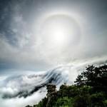 江西庐山瀑布云仙气十足 简直美到炸!