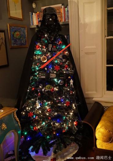 圣诞树也可以更逗比~