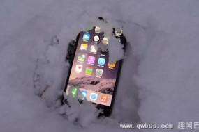 """天太冷小心手机被""""冻僵"""""""